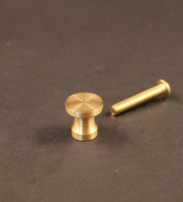Paul McCobb jewelry box draw pull knob in brass photo